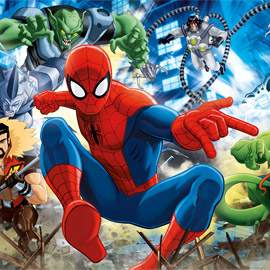 Puzzle 100 Spider-Man Sinister Six