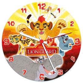 Puzzle Hodiny 96 The Lion Guard