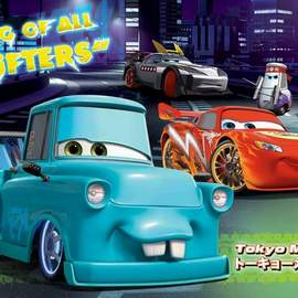 Puzzle 104 Cars Toons Tokyo Mater
