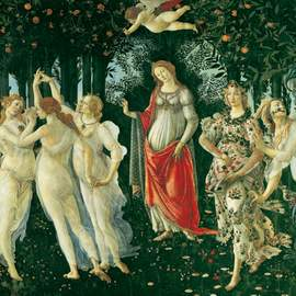 Puzzle 1000 Boticelli, The Spring