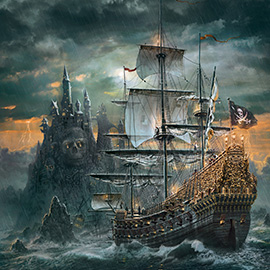 Puzzle 1500  The Pirate ship