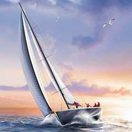 Puzzle 1000 Sail boat