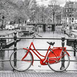 Puzzle 1000 Amsterdam Bicycle