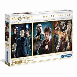 Puzzle 3x1000 Harry Potter