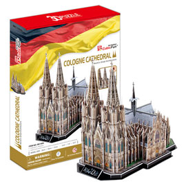 Puzzle 3D Cologne Cathedral