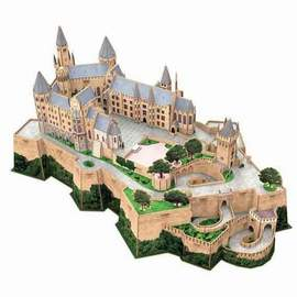 Puzzle 3D Burg Hohenzollern
