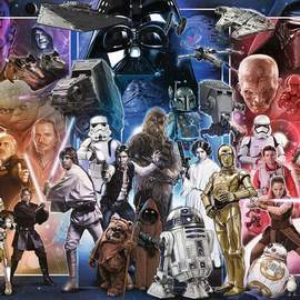 Puzzle 1500 Star Wars