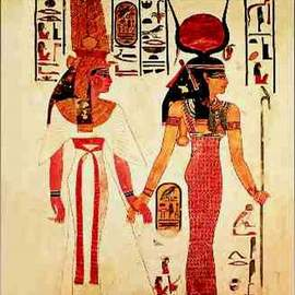 Puzzle 1000 Nefertari preceded by Goddess Isis
