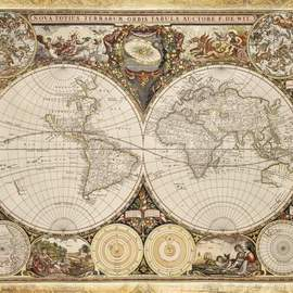 Puzzle 2000 Historic map of World