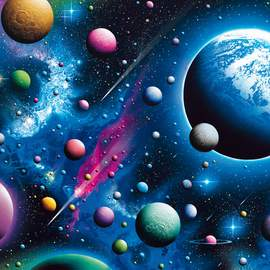 Puzzle 2000 Captivating Cosmos