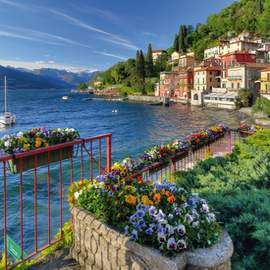 Puzzle 1000 The Shores of Lake Como