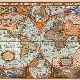 Puzzle 3000 Ancient World Map