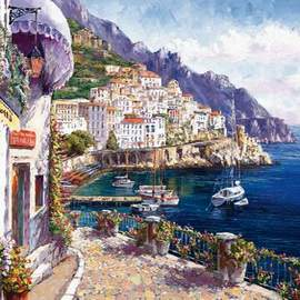 Puzzle 2000 Sam Park, Afternoon in Amalfi