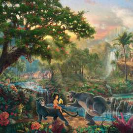 Puzzle 1000 Disney The Jungle Book