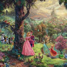 Puzzle 1000 Disney Sleeping Beauty