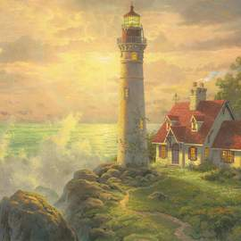 Puzzle 1000 Lighthouse Seascape