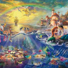 Puzzle 1000 Disney The Little Mermaid, Ariel