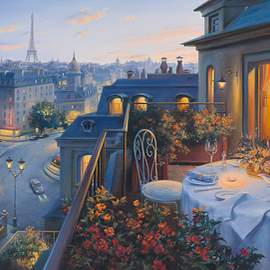 Puzzle 1000 A Romantic Evening in Paris