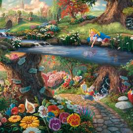 Puzzle 1000 Disney, Alice in wonderland