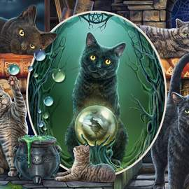 Puzzle 1000 Magical cats