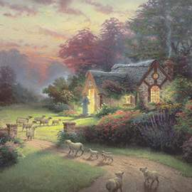 Puzzle 1000 Spirit, The Good Shepherd's cottage