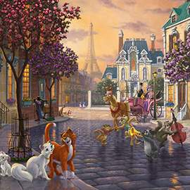 Puzzle 1000 Disney, The  Aristocats